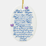 Daughter Expecting 1st Baby Christmas Ornament