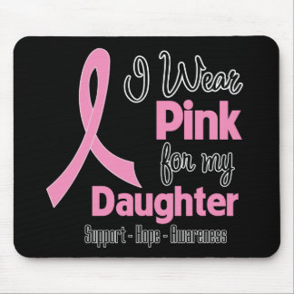 Daughter - I Wear Pink - Breast Cancer Mousepad