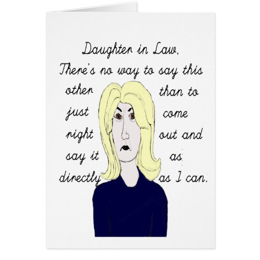 Daughter In Law Quotes Funny. QuotesGram