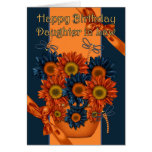 Daughter in Law Birthday Card - Sunflower And Drag