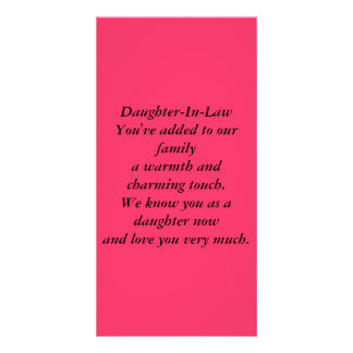 Daughter-In-Law Card