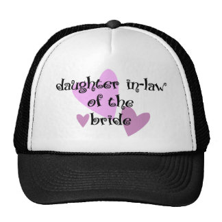 Daughter In-law of the Bride Hat