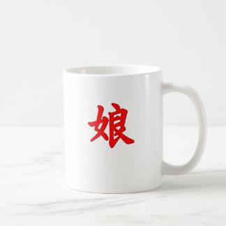 Daughter Japanese Kanji Mug