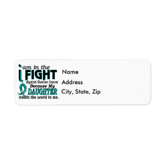 Daughter Means World To Me Ovarian Cancer Return Address Label