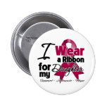 Daughter - Multiple Myeloma Ribbon Badges