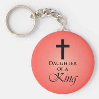 Daughter of a King Key Ring