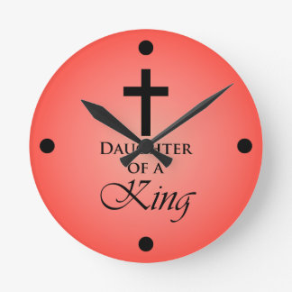Daughter of a King Wallclock