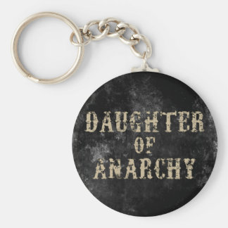 Daughter of Anarchy Basic Round Button Key Ring