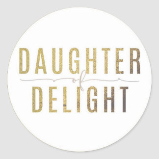 Daughter of Delight Sticker