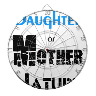 Daughter Of Mother Nature Dartboard