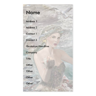 Daughter of Oceanus! Pack Of Standard Business Cards