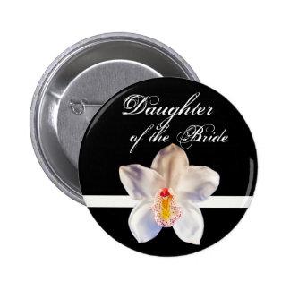 Daughter Of The Bride Wedding ID Bride 6 Cm Round Badge