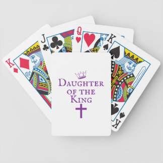 Daughter of the King design Poker Deck