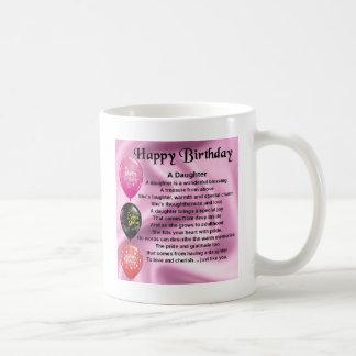 daughter poem  happy birthday mugs