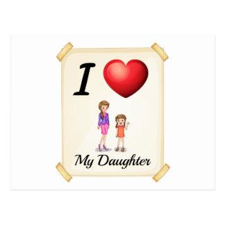 Daughter Postcard