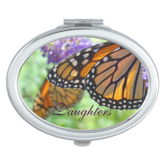 Daughters gifts Compact mirrors Monarch Butterfly