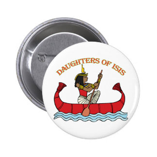 Daughters of Isis 6 Cm Round Badge