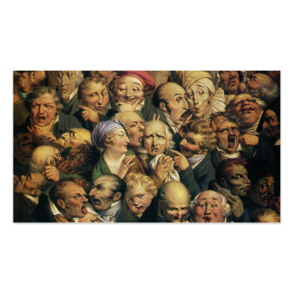 Daumier's Expressions custom business cards