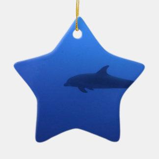 Dauphin Dolphin Customizable Ceramic Ornament
