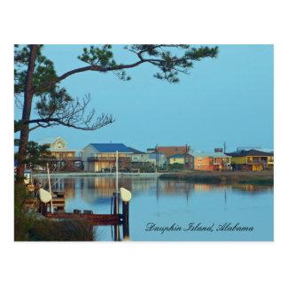 Dauphin Island Alabama Postcard