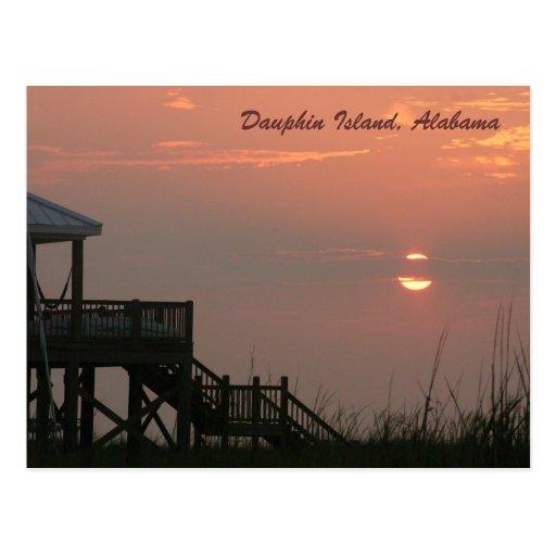 Dauphin Island, Alabama Postcard