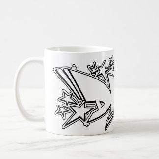 DAVE Graffiti Name - Basic White Mug