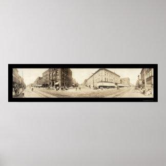 Davenport, Iowa Photo 1907 Poster