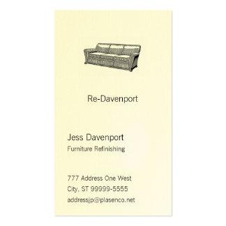 Davenport or Sofa Business Cards