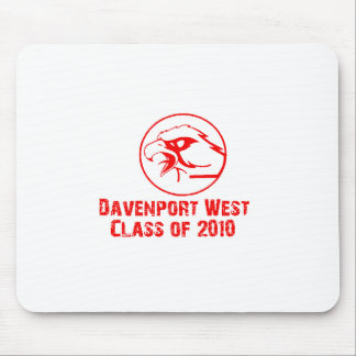 davenport west class of 2010 mousepad