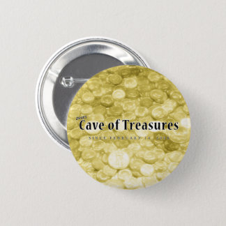 Dave's Cave of Treasures 10th Anniversary Button