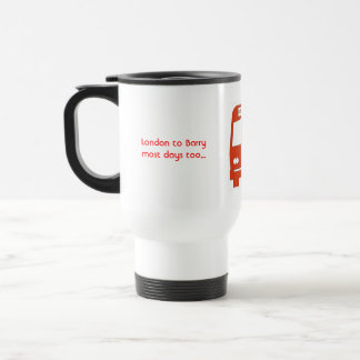Daves Coaches Red Mug
