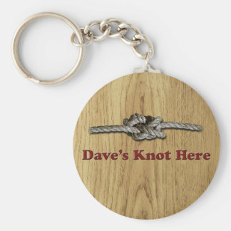 Dave's Knot Here SHORT - Multi-Products Key Ring