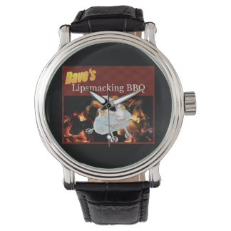 Dave's Lipsmacking BBQ wrist Watch