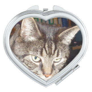 Dave's Watching You Heart Compact Mirror