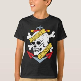 Davey Jones Tattoo T-Shirt