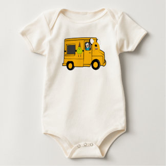 Davey The Ice Cream Man Baby Bodysuit