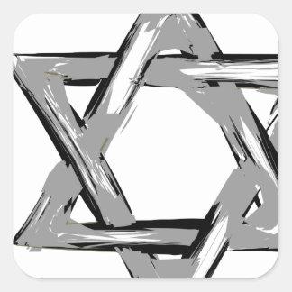 david2 square sticker