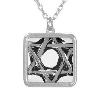 david3 silver plated necklace