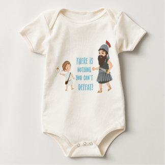 David and Goliat Baby Bodysuit