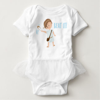 David. Beat It! Baby Bodysuit