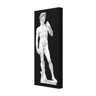 David by Michelangelo Wrapped Canvas