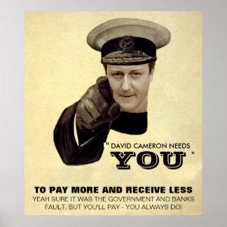 David Cameron Print