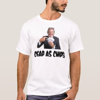 "David Dickinson ""Cheap As Chips"" T-Shirt"