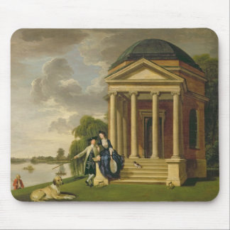 David Garrick (1717-79) and his Wife by his Temple Mouse Pad