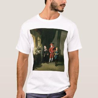 David Garrick with William Burton and John T-Shirt