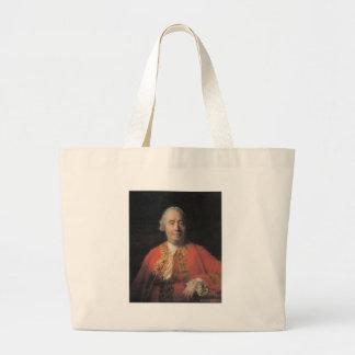 david hume large tote bag