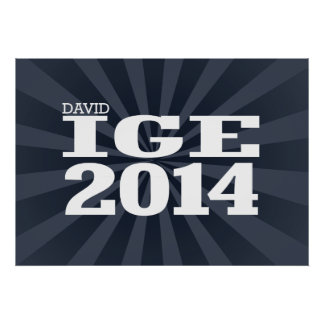 DAVID IGE 2014 PRINT