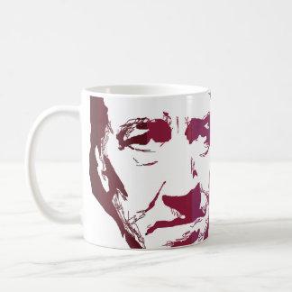David Lynch by burro Basic White Mug