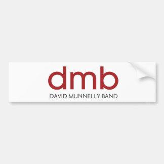 David Munnelly Band Logo Bumper Sticker