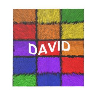 DAVID NOTEPADS
